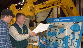 Heavy Equipment Service Engineering Technology