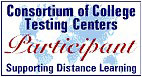 Link to Consortium of College Testing Centers