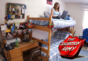Ferris Donates Residence Hall Items To The Salvation Army Ferris State University
