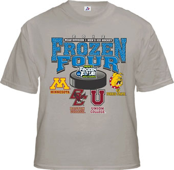 Frozen Four merchandise