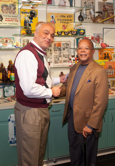 David Pilgrim and Henry Louis Gates Jr.
