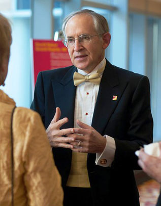 David Eisler, president of Ferris State University