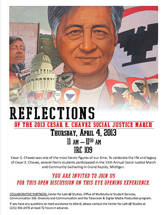 Cesar Chavez Social Justice March Discussion
