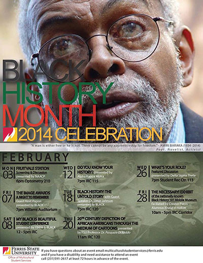 Black History Month at Ferris State University