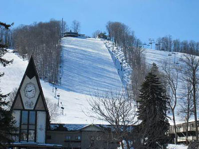 Boyne Resort in Boyne Falls, Michigan