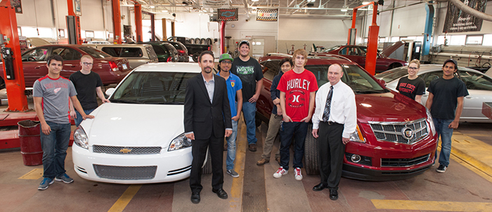 General Motors Donation An Investment In Ferris Automotive