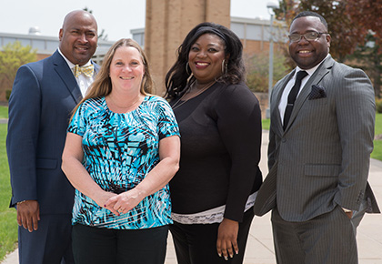 Office of Multicultural Student Services staff