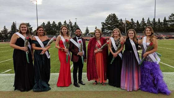 Ferris State University 2018 Homecoming Royalty