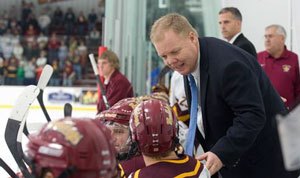 Bob Daniels, Hockey Coach