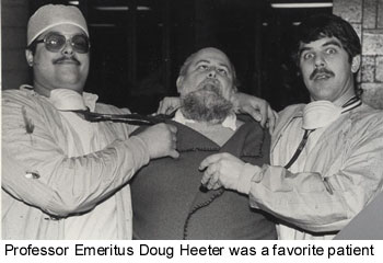 Doug Heeter was a favorite patient
