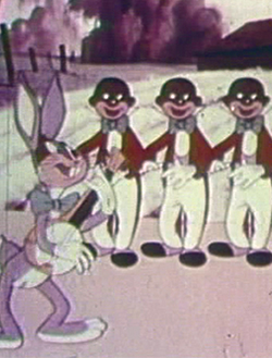 Bugs Bunny in cartoon