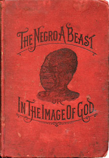 The Negro a Beast book