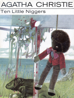 Agatha Christie Ten Little Niggers book cover