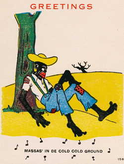 The Coon Caricature Anti Black Imagery Jim Crow Museum Ferris