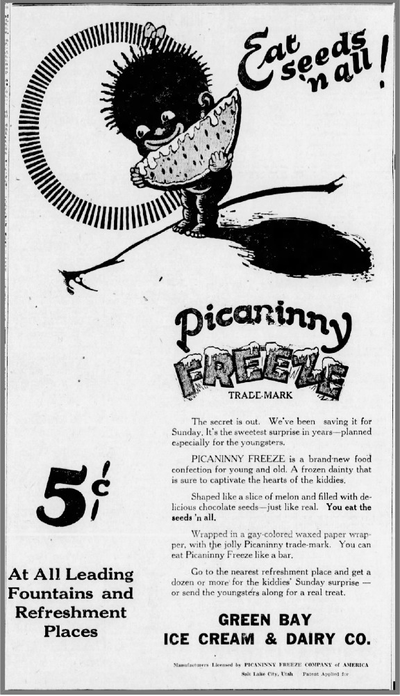 Picaninny Freeze ad