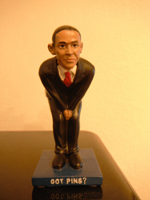 Obama Pin Cushion front