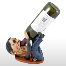 Obama wine bottle holder