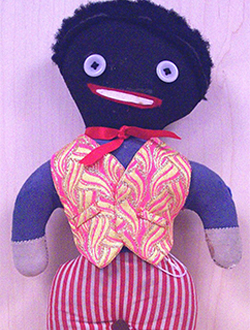 Golliwog stuffed doll