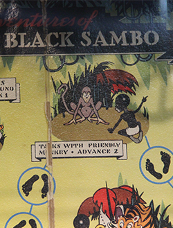 Little Black Sambo board game
