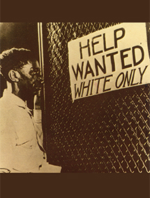 White only help wanted sign