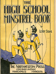 High School Minstrel show book