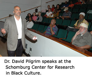 Dr. Pilgrim at Schomburg