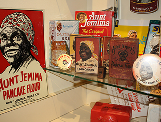 Aunt Jemima display