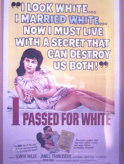 I Passed for White Movie poster