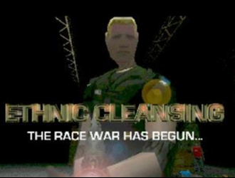 Ethnic Cleansing video game screenshot