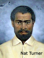 Painting of Nat Turner