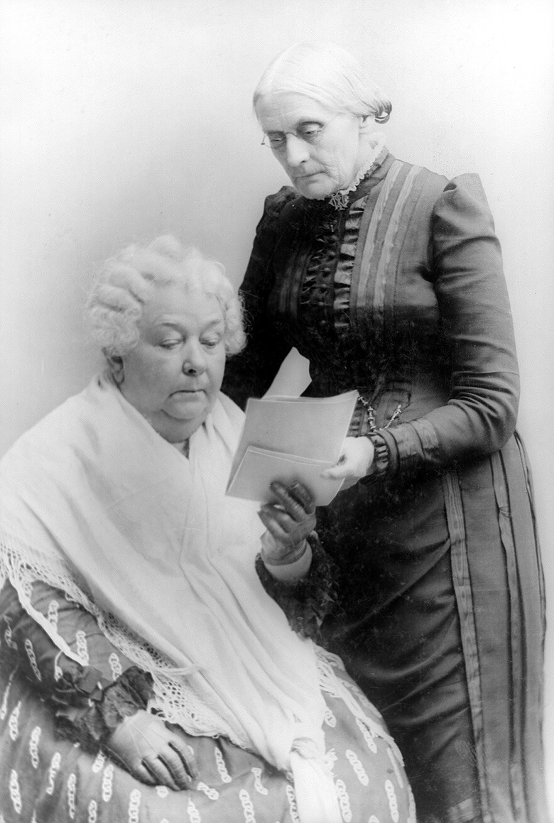 Cady Stanton and Susan B Anthony