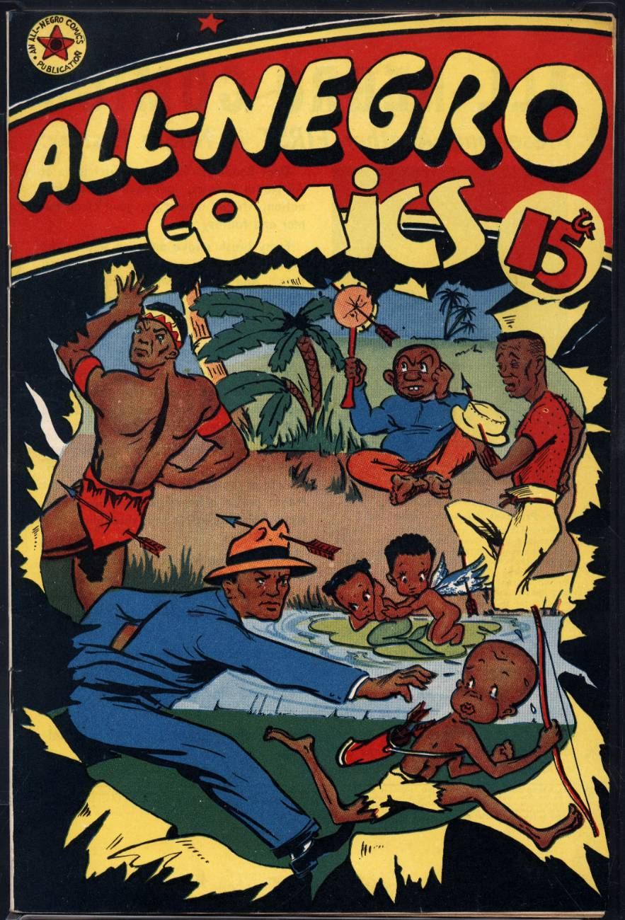 All-Negro Comics Number 1