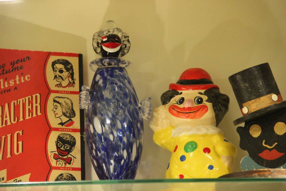 Clown Doll from the Jim Crow Museum Collection