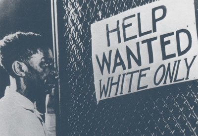 help wanted white only