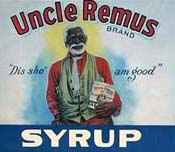 Uncle Remus Syrup advertisement