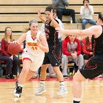 WOMEN'S BASKETBALL HOSTED LEWIS UNIVERSITY IN ACTION AT WINK ARENA.