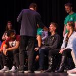 DELUCA USED HIS POWERS OF SUGGESTION TO HYPNOTIZE 20 FSU STUDENTS.