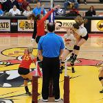 "THE BULLDOG VOLLEYBALL TEAM REACHED THE NCAA ""SWEET 16"" AND FINISHED THE YEAR AT 30-6."