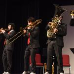 THE INTERNATIONALLY RENOWNED CANADIAN BRASS ENSEMBLE PERFORMED AT WILLIAMS AUDITORIUM