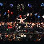 "THE FSU BAND AND ORCHESTRA PRESENTED ITS ""SYMPHONIC SANTA SUNDAY"" HOLIDAY CONCERT."