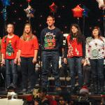 THE HOLIDAY SPIRIT TOOK CENTER STAGE AT WILLIAMS AUDITORIUM.