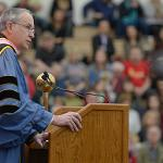 PRESIDENT DAVID EISLER WELCOMES THE NEW GRADUATES, THEIR FAMILIES AND FRIENDS.