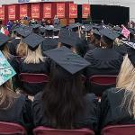A TOTAL OF 1,156 DEGREES AND CERTIFICATES WERE AWARDED TO GRADUATING STUDENTS THIS SEMESTER.