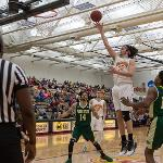 ZACH HANKINS BLOCKED 10 SHOTS IN THE WIN AND LEADS FSU IN POINTS (15.1), REBOUNDS (9.6) AND BLOCKS (4.4) PER GAME.