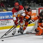 THE BULLDOGS MOVED INTO A 5th PLACE TIE IN THE WCHA STANDINGS WITH THE SERIES SPLIT.