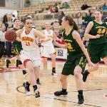WOMEN'S BASKETBALL ACTION