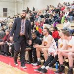 MEN'S BASKETBALL COACH ANDY BRONKEMA AND THE BULLDOGS HOLD AN IMPRESSIVE 22-4 RECORD.