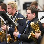 THE FSU JAZZ BAND PERFORMED ITS WINTER CONCERT.