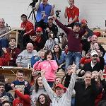 WITH FERRIS ON SPRING BREAK, THE BULLDOGS RECEIVED GREAT COMMUNITY SUPPORT AS 1,107 FANS TURNED OUT FOR THE BIG WIN.