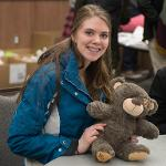 """""""STUFF A PLUSH"""" ALLOWED STUDENTS AND OTHERS TO STUFF A TOY ANIMAL OF THEIR CHOICE."""